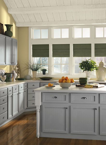Color Schemes Kitchens With Gray Cabinet Gorgeous Gray Kitchen With A Splash Of Yellow Bm Storm On