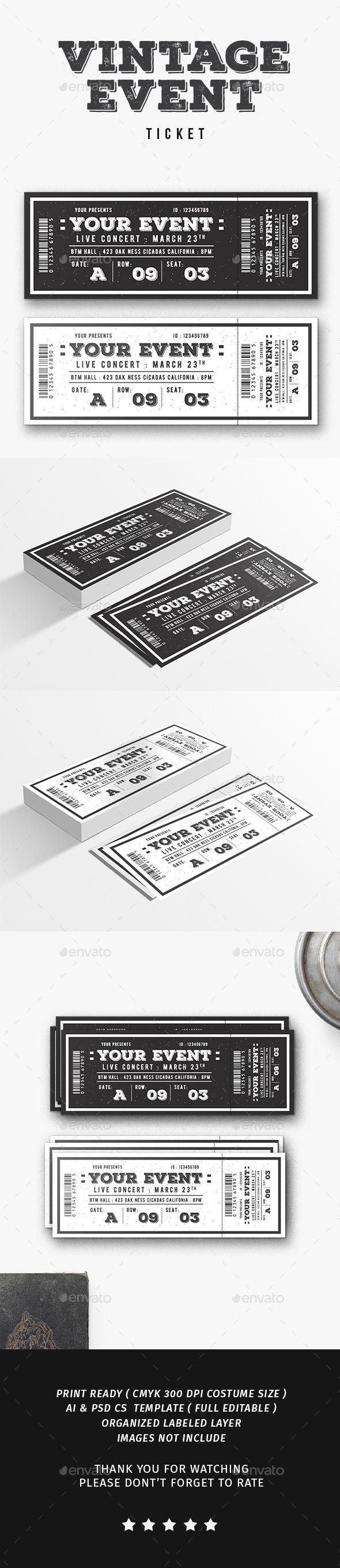 Poster design online free download - Design Event Poster Online Free Vintage Event Ticket Download