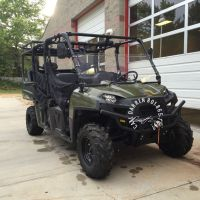 Polaris Ranger 800 crew cab roll cage & seat package with ...