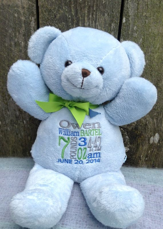 monogrammed baby boy gifts