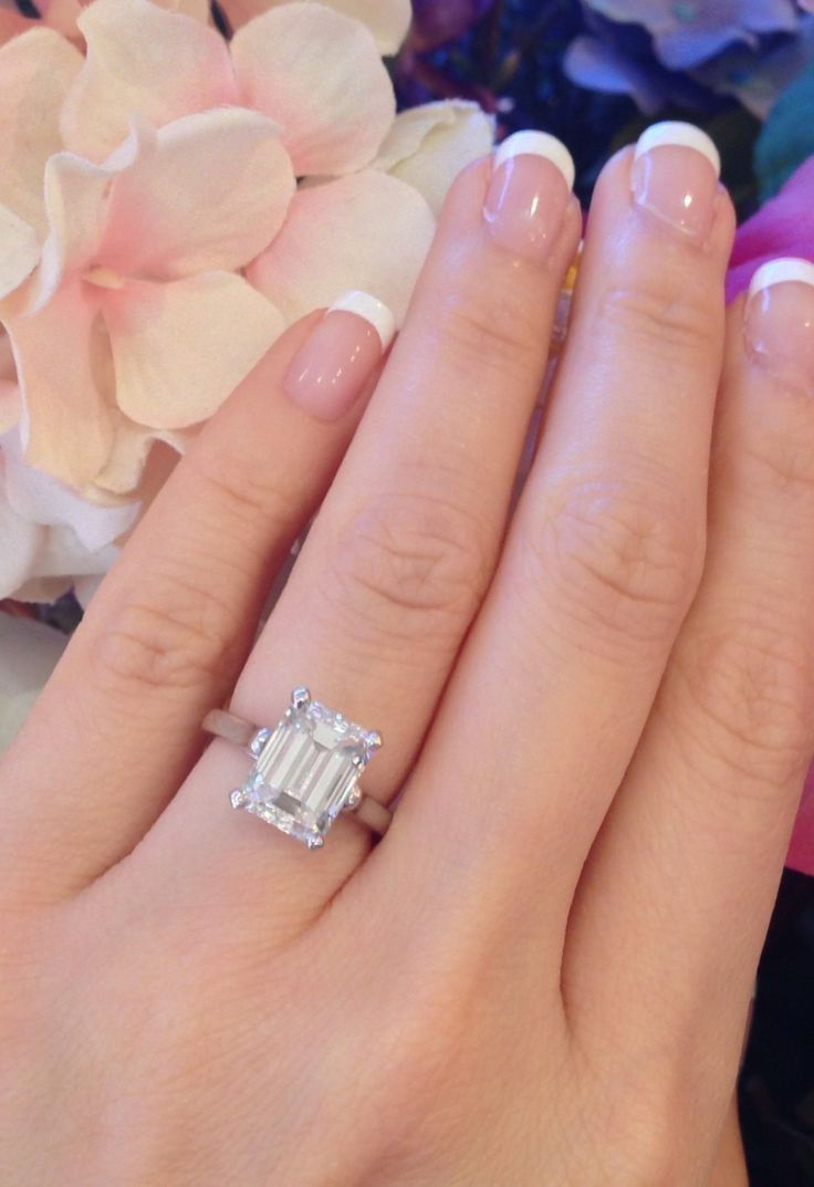 rings ebay wedding rings sets Perfection Tiffany Co 3 86 Ct GIA VS2 G Emerald Cut Platinum Diamond Engagement Ring