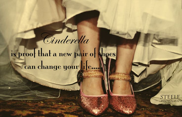 Cute Wallpapers With Nice Quotes Pink Shoes Vintage Quote Cinderella Glitter Sparkle