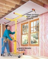 25+ best ideas about Drywall lift on Pinterest   Tools ...
