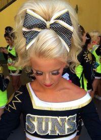 Best 20+ Cheerleader Hair ideas on Pinterest ...
