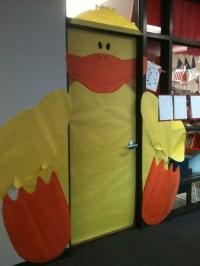 Door decoration for Easter | School Fun-Bulletin Boards ...