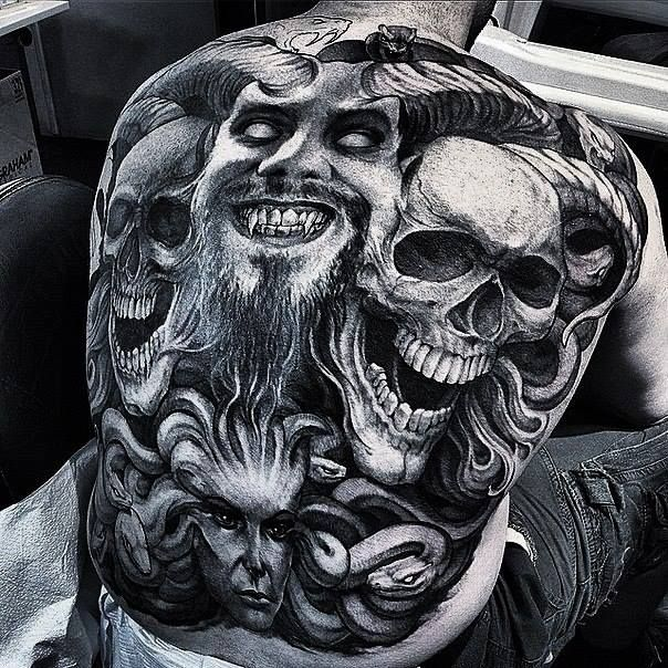 Gangsta Girls And Lowriders Wallpaper Sick And Scary Devil Tattoo From Tattooswin Com Ultimate