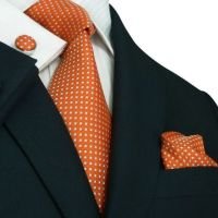 15 Must-see Orange Tie Pins | Mens suits style, Men's ...