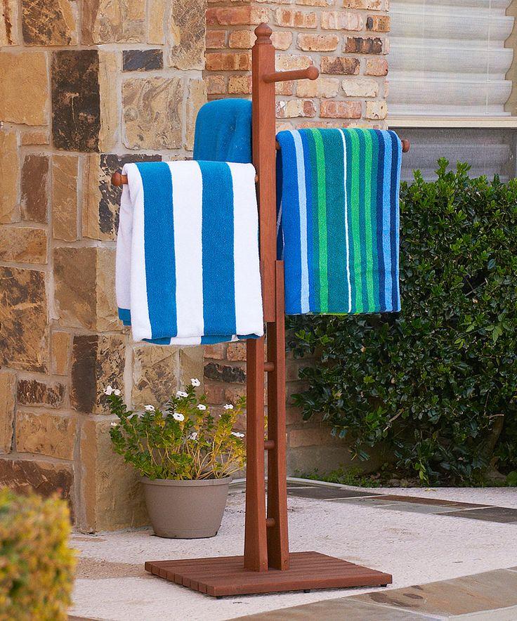 17 Best Ideas About Towel Rack Pool On Pinterest Pool