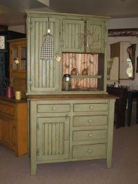 Primitive Hoosier Cabinet   Love That Vintage Decor ...