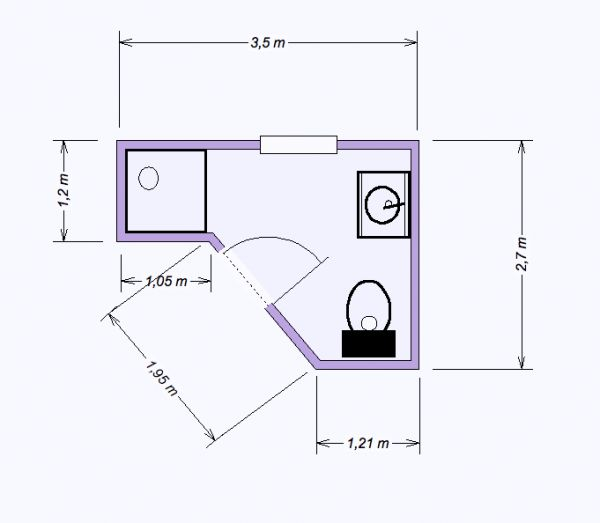 Download Badezimmer 6M2 Vitaplazainfo   Badezimmer 3 5 M2
