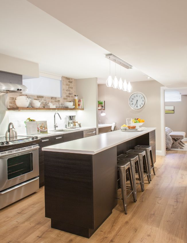 17 Best Ideas About Basement Kitchen On Pinterest | Basement Bar