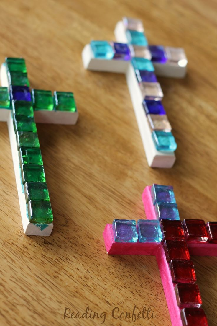 Unfinished wooden crosses for crafts - Unfinished Wood Crosses For Crafts Easy And Inexpensive Mosaic Crosses Kids Can Make To Give Download