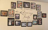"Idea for my ""family wall"" | Decorating Ideas | Pinterest ..."