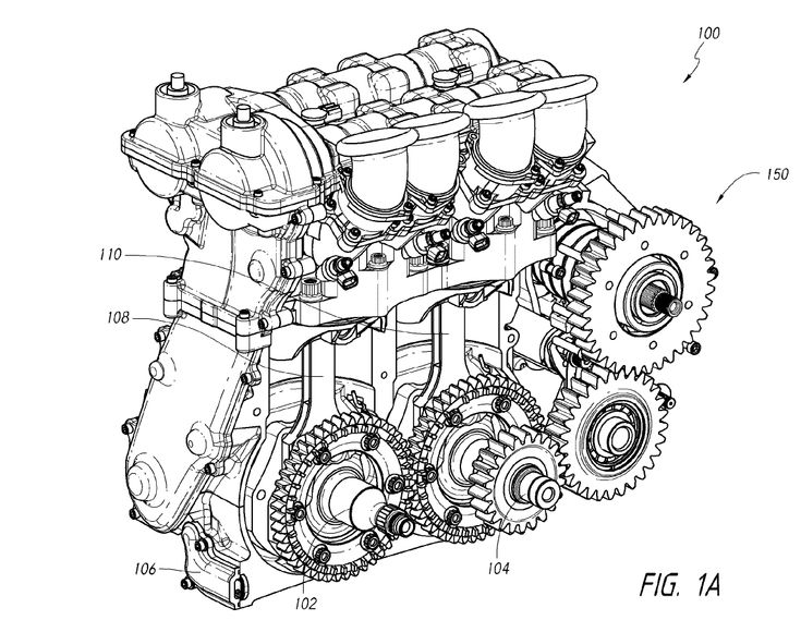 Koenigsegg Motor diagram