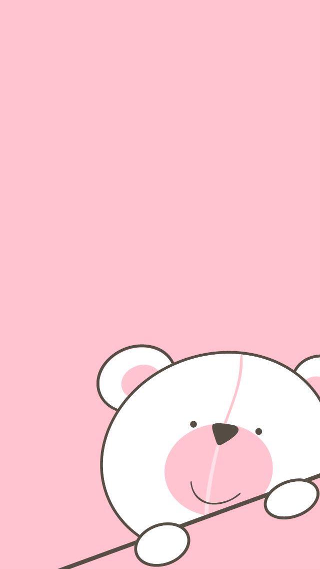 Cute Nutella Wallpapers Teddy Bear Background Cute Pinterest Pink