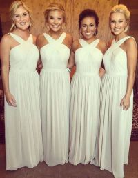 Best 25+ White Bridesmaid Dresses ideas on Pinterest ...
