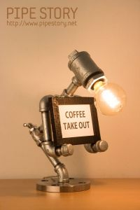 1000+ ideas about Pipe Lamp on Pinterest   Steampunk Lamp ...