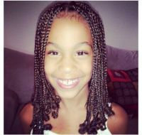 Youth Natural Hair Box Braids | 1. Hair and there ...