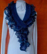 1000+ ideas about Ruffle Yarn on Pinterest | Sashay scarf ...