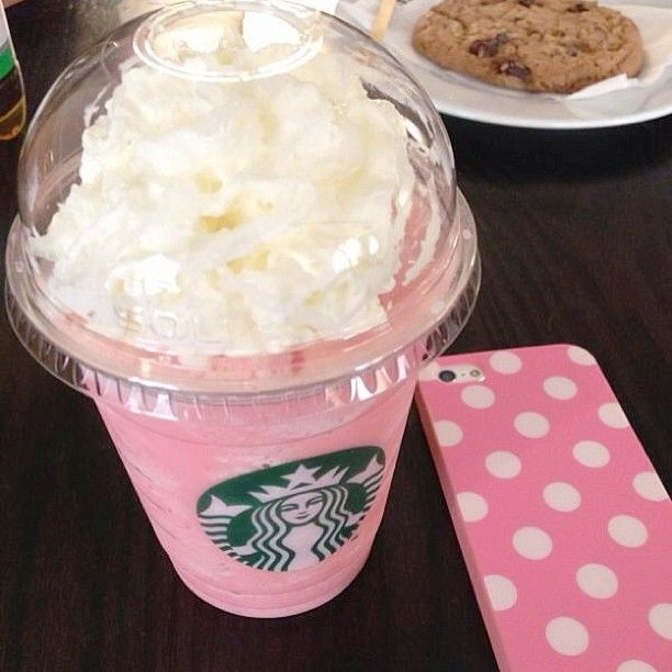 Polka Dots Wallpaper For Iphone Girly Starbucks Chill Day Chill Pinterest Frappe