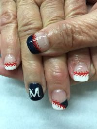 1000+ ideas about Baseball Nail Designs on Pinterest ...