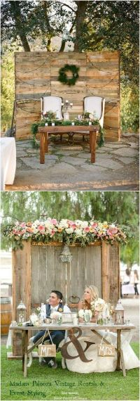 25+ best ideas about Sweetheart table decor on Pinterest ...