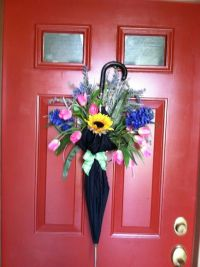 25+ best ideas about Umbrella Wreath on Pinterest   How to ...