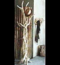13 best images about Rustic coat rack on Pinterest