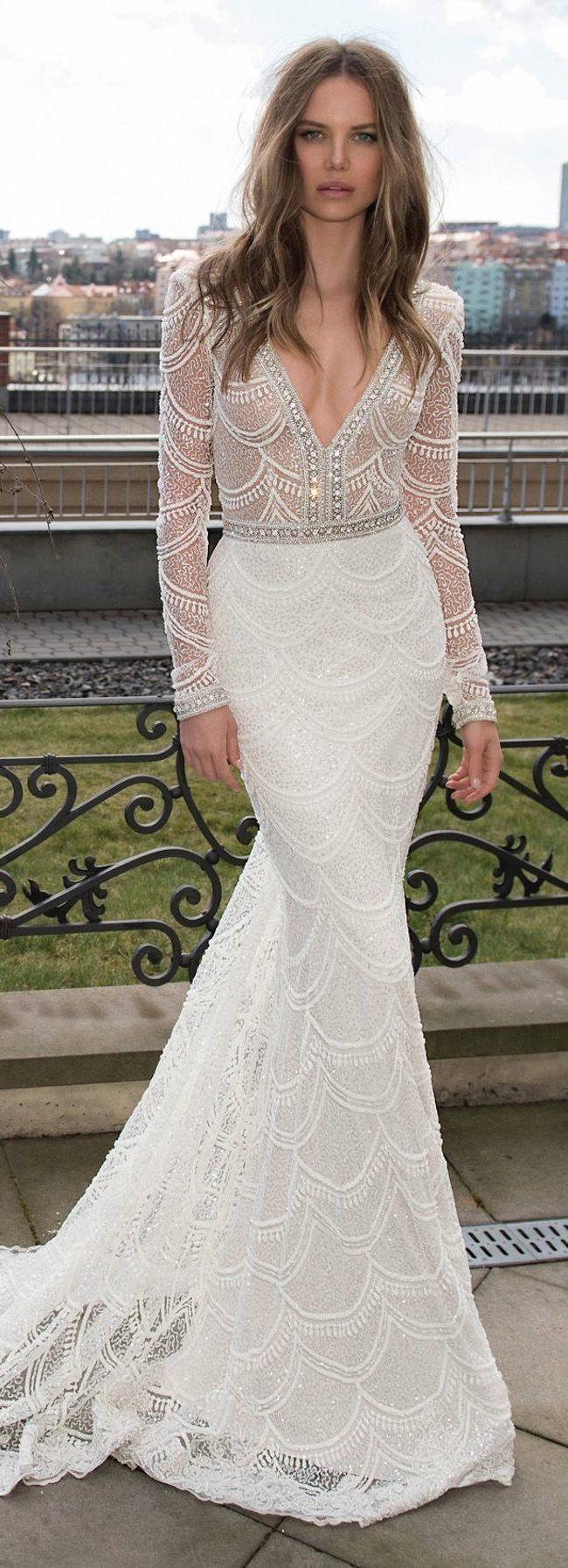 wedding dresses games long dresses for weddings Stunning Long Sleeve Wedding Dresses