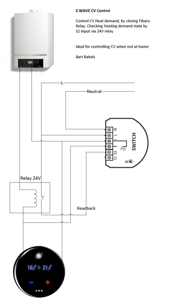 smart home wiring relay