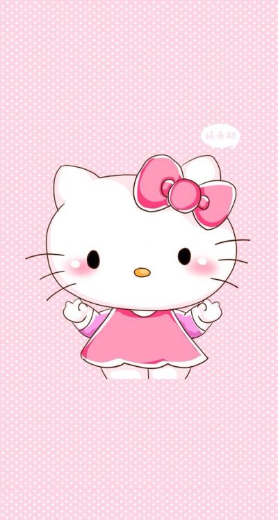 iphone 5 wallpaper cute background free bg hello kitty kawaii pink sanrio | iPhone 5 and 6 ...