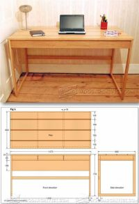 25+ Best Ideas about Desk Plans on Pinterest | Woodworking ...