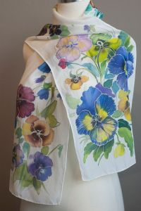 17 Best images about Silk Scarf Painting Ideas on ...