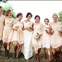 17 Best ideas about Bridesmaids In Boots on Pinterest ...