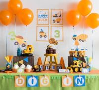 287 best images about Party Ideas- Construction Theme on ...