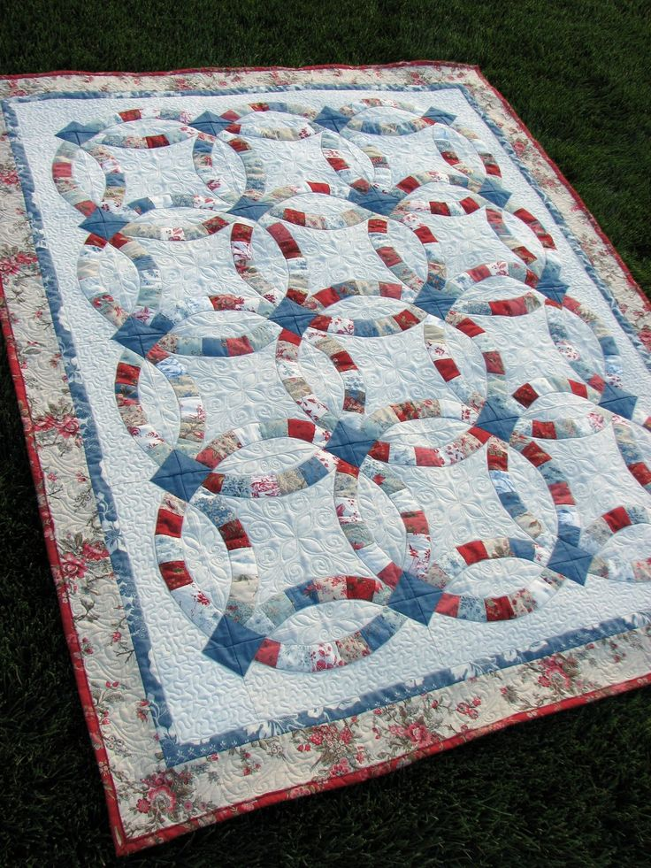 Quilt And Things Top 25 Ideas About Quilting - Double Wedding Ring On