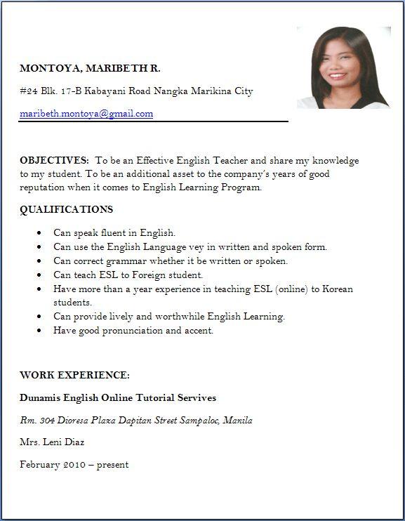 Resume Sample For Job Apply TemplateSample Resume Format For Job - resume template for first job