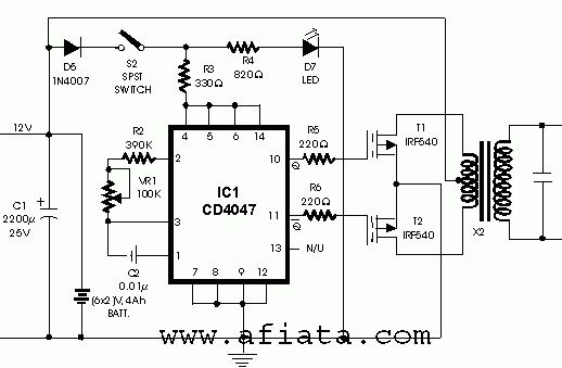 12v to 24v dc dc converter circuit electronics projects circuits