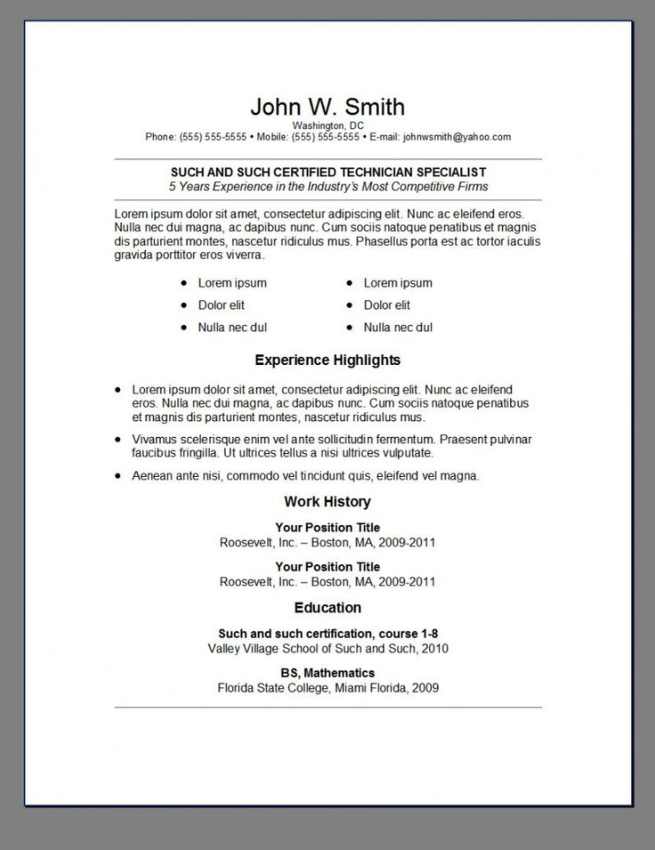 trusted free resume templates for mac redit