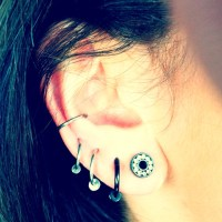 25+ best ideas about Small Ear Gauges on Pinterest | Small ...