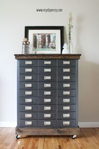 17 Best ideas about Painted File Cabinets on Pinterest