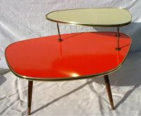Vintage~mid-century~boomerang~formica~coffee table~west ...