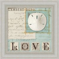Beach Journal I by Wild Apple Portfolio Sand Dollar Love ...