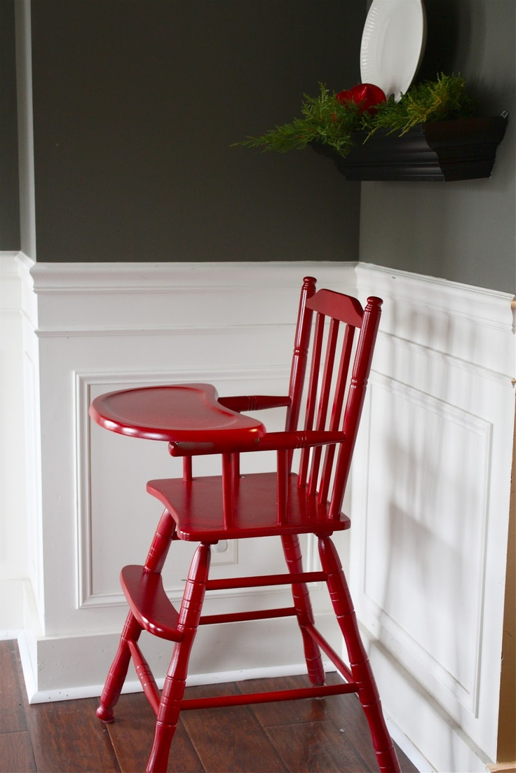 Painted wood high chair - Painted Wood High Chair A Quick 30 Minute And Inexpensive 20 Project To Prepare Your Download