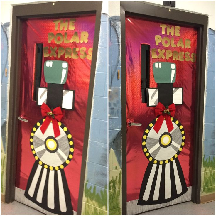 Polar Express Door Decorating Ideas