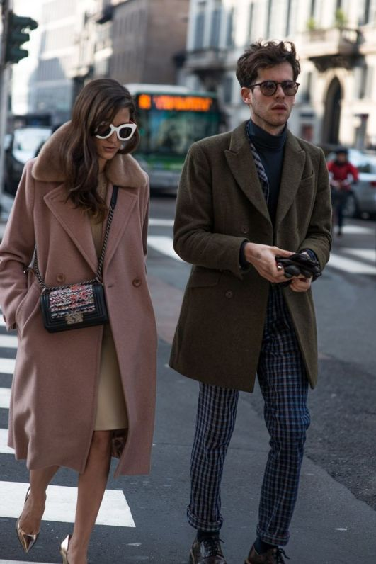 Street style at Milan Fashion Week 2015 - GQ.co.uk: