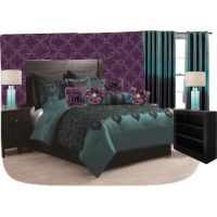39 best images about Purple and Turquoise Teal Bedroom on ...