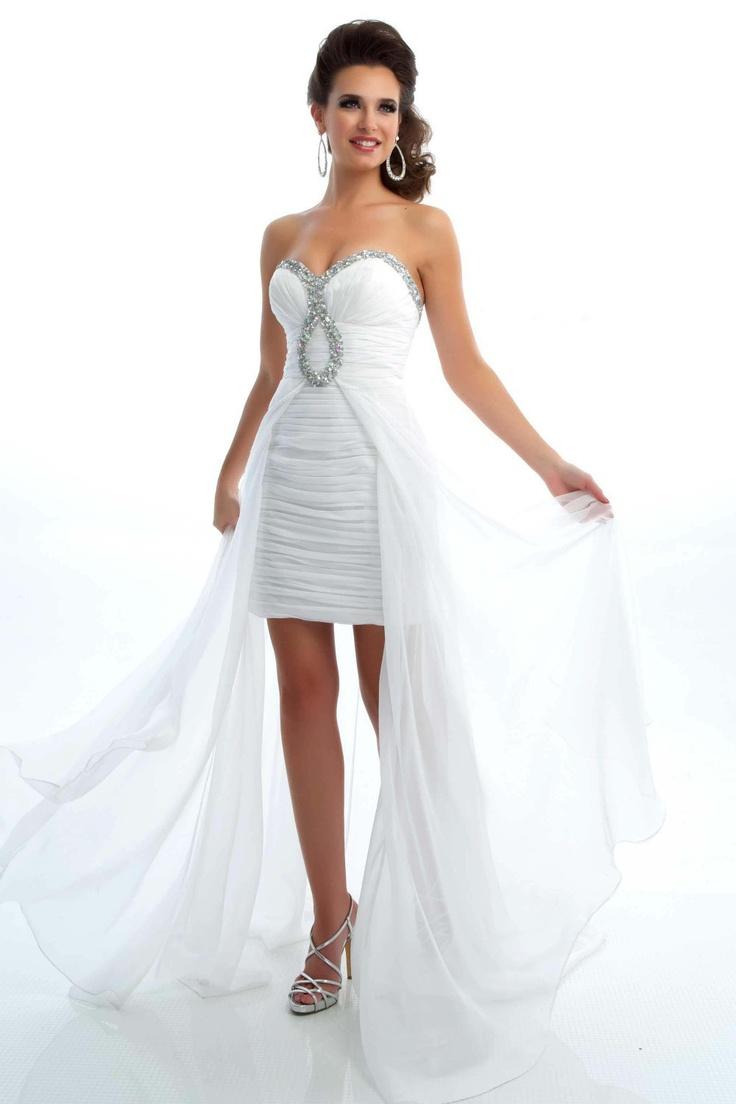 wedding dresses reception wedding dress High Low wedding dress