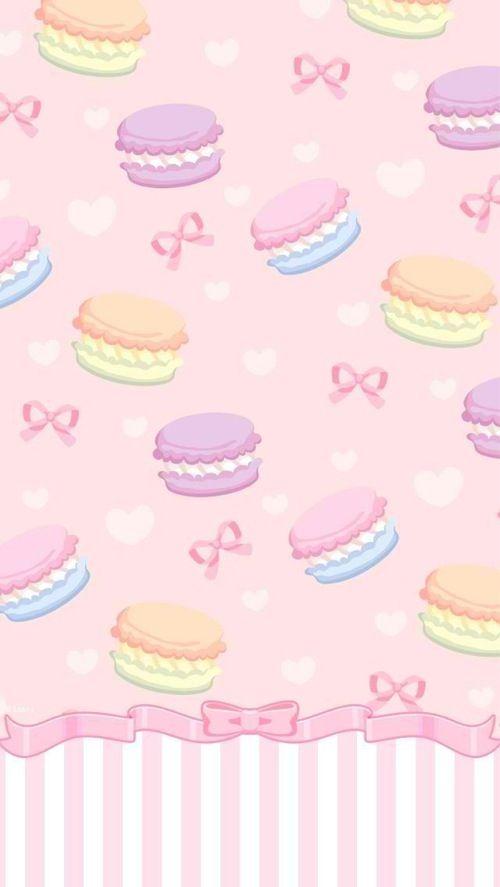 Macarons iphone wallpaper iphone backgrounds pinterest