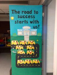 School bus classroom door.   Classroom door ideas ...